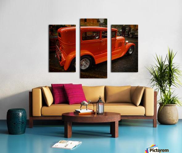 1929 Ford Tudor Sedan Canvas print