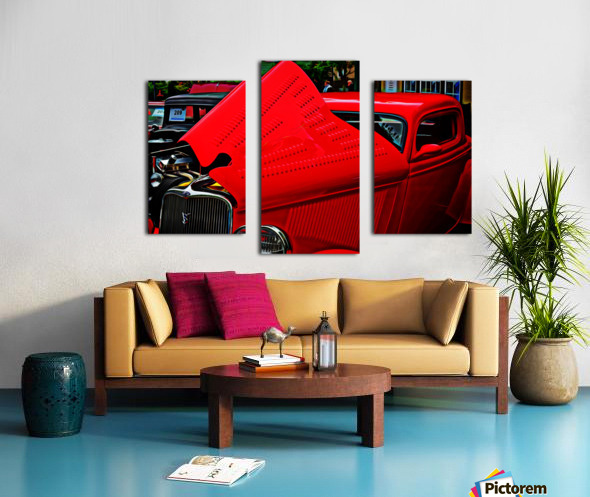 1933 Ford Window Coupe Canvas print