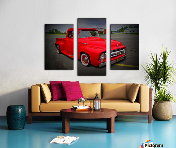1953 Ford Pickup Canvas print