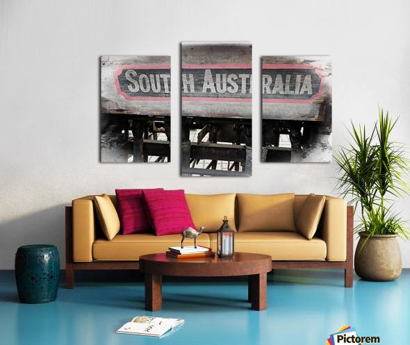 South Australia Sign Canvas print