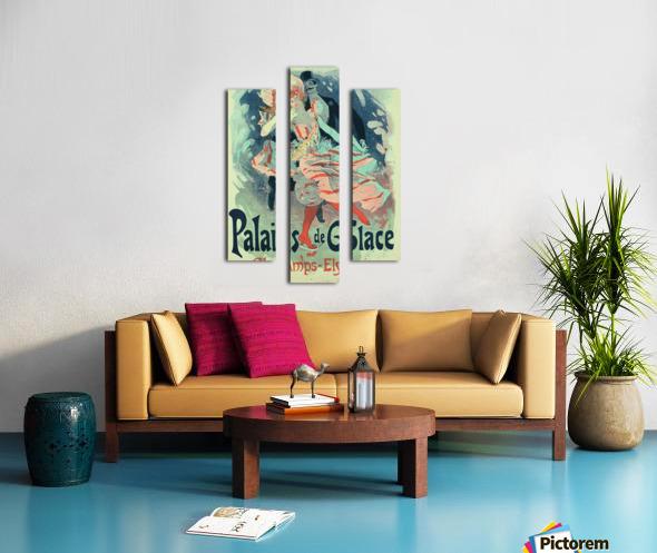 Palais de Glace Vintager Poster Canvas print