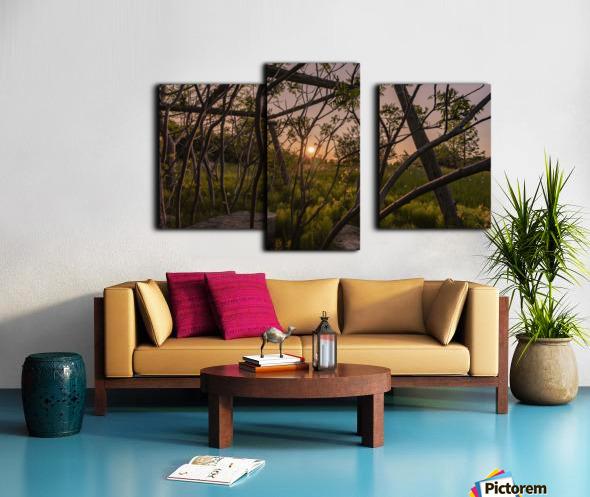 Un lieu pour mediter - A place to meditate Canvas print