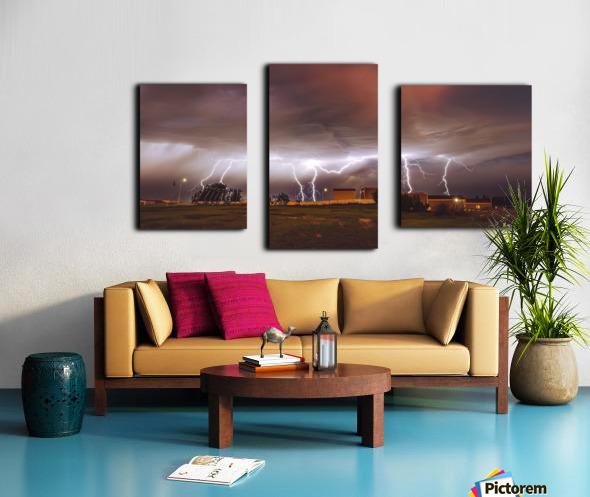 Light em Up  Canvas print