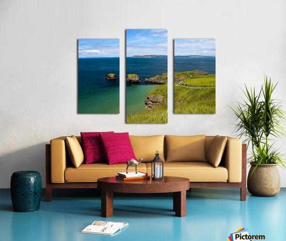Northern Ireland Coast View Canvas print