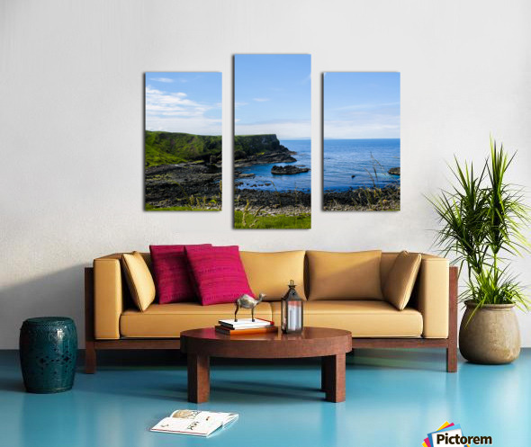 Northern Ireland Coast View II Canvas print