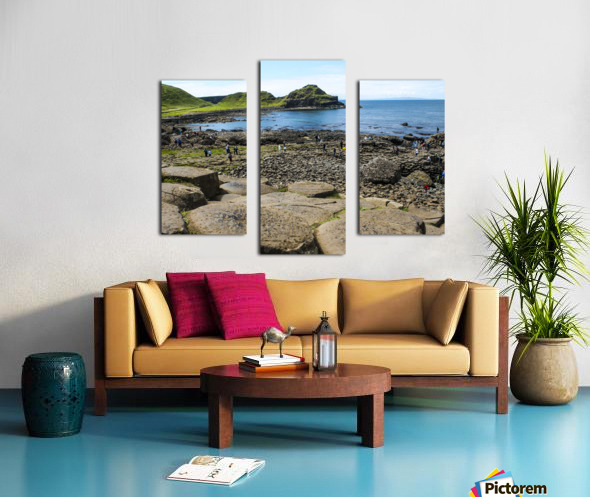 The Giants Causeway in Northern Ireland Canvas print
