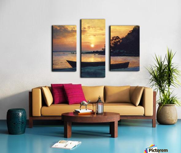 If I had a boat Canvas print