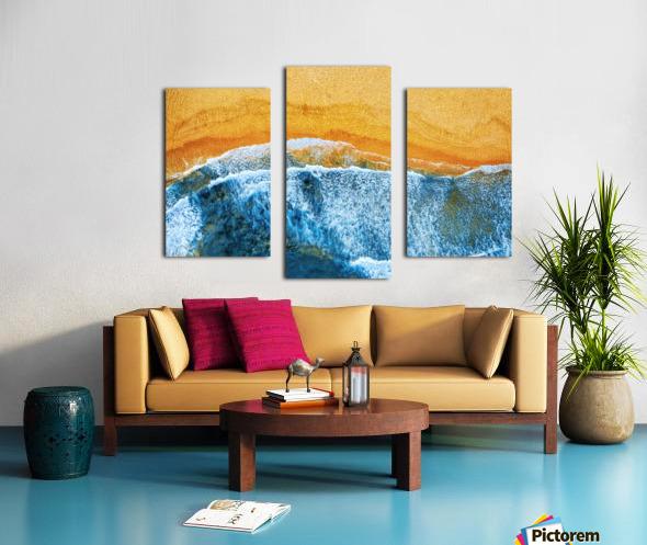 Golden Beach I Canvas print