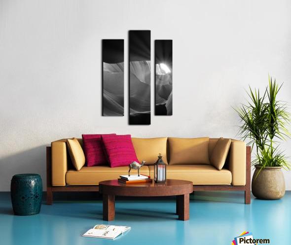 Light Cavern Impression sur toile