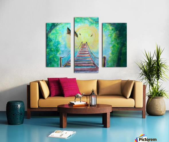 The Bridge To Next Tuesday Canvas print