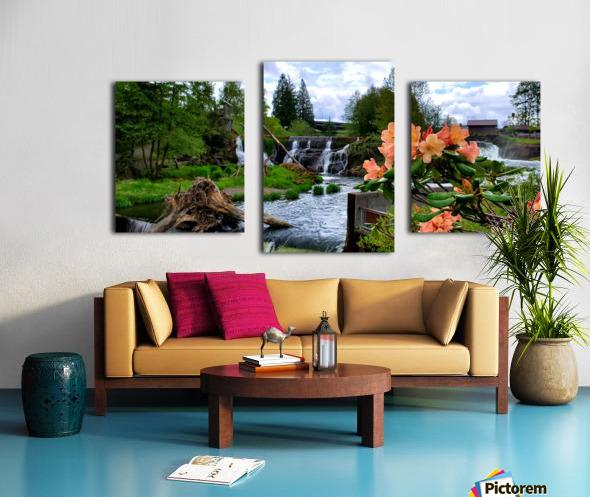 Tumwater Falls Canvas print