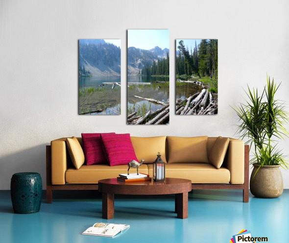 Sawtooth Lake Canvas print