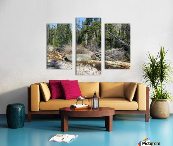 Upper Provo River Canvas print