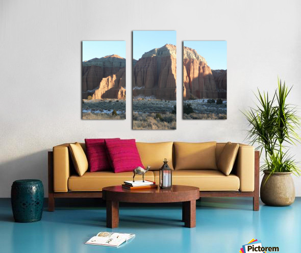 Highlights on Cathedral Canvas print