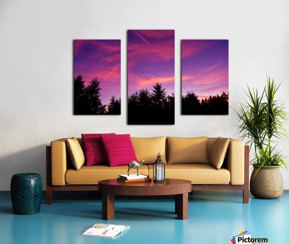 Summer Sunset Pacific Northwest United States Canvas print