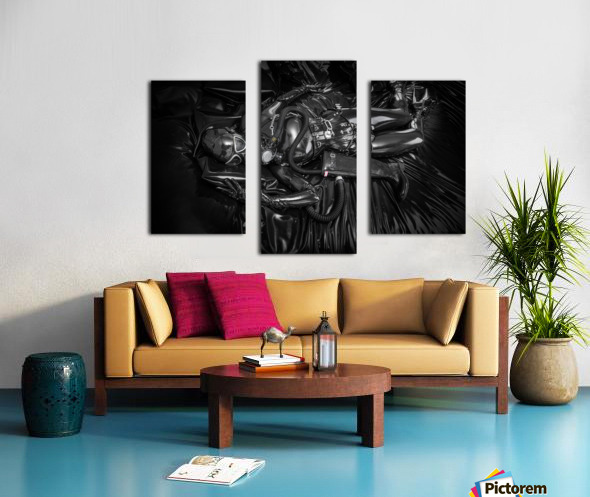 Totally Enclosed MsPervology Canvas print