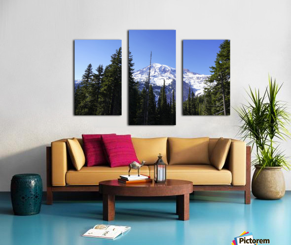 Mount Rainier Pacific Northwest Washington State Canvas print