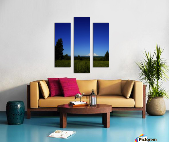 Mount Rainier at Sunset Pacific Northwest Washington State Canvas print