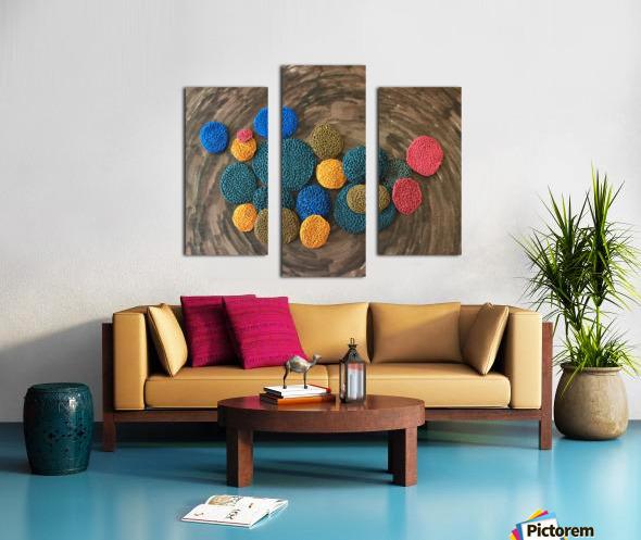 Corals Canvas print