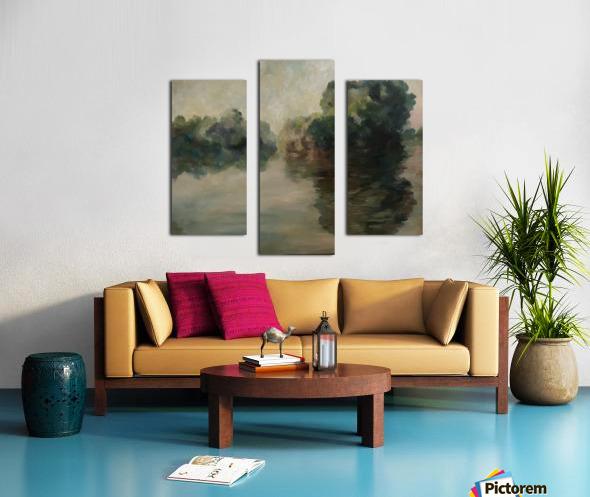 Monet study two Canvas print