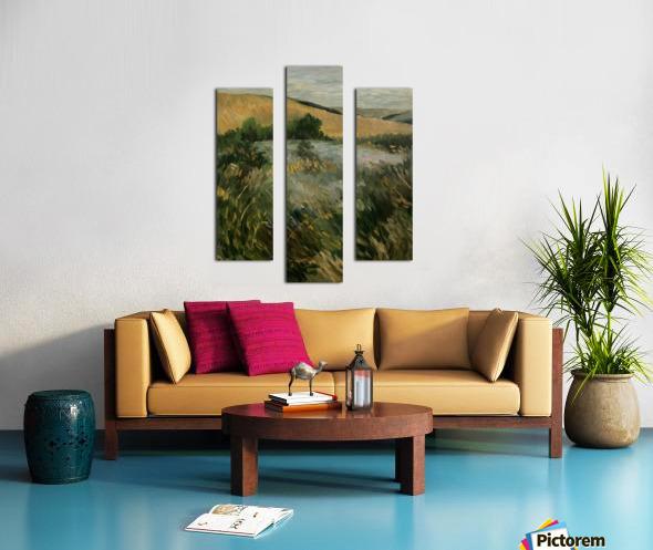 Arkansas field Canvas print