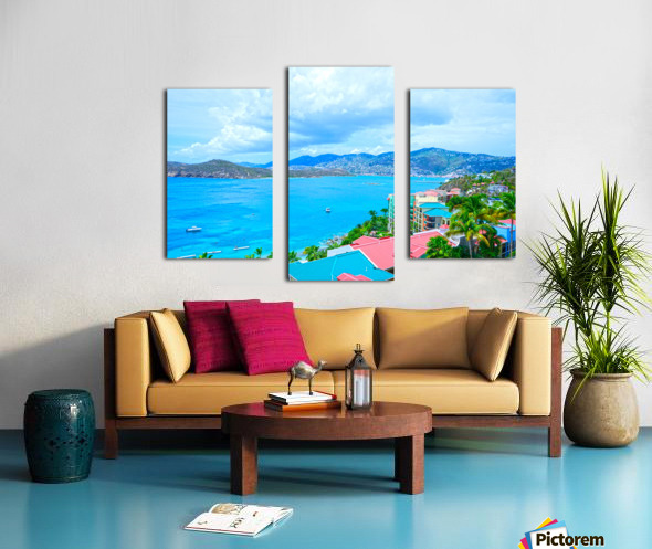 Pacquereau Bay Saint Thomas Caribbean Islands Canvas print