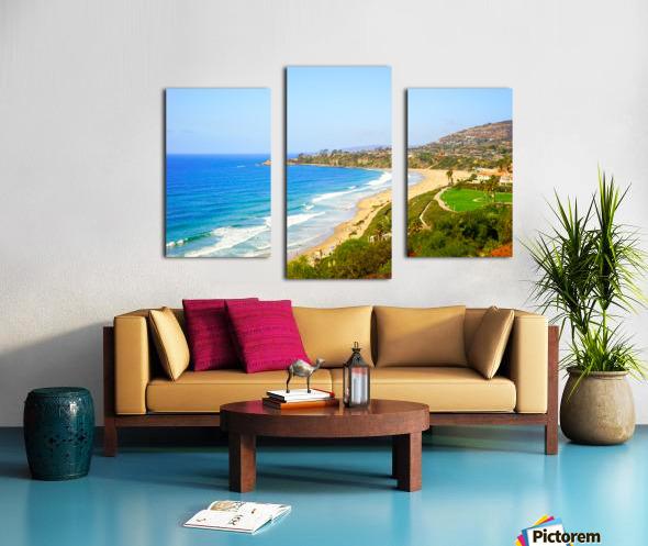 Beautiful Coastal View Newport Beach California 1 of 2 Canvas print