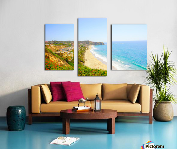 Beautiful Coastal View Newport Beach California 2 of 2 Canvas print