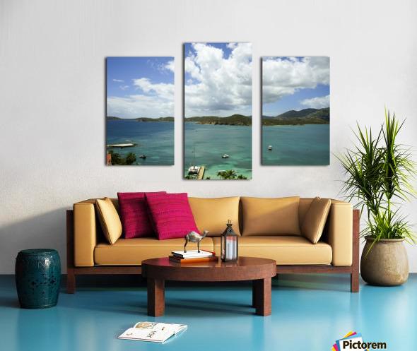 Saint Thomas in the Caribbean Islands Canvas print