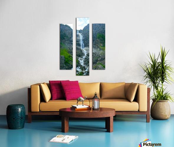 Engstligen Falls Adelboden Switzerland in the Bernese Highlands Canvas print