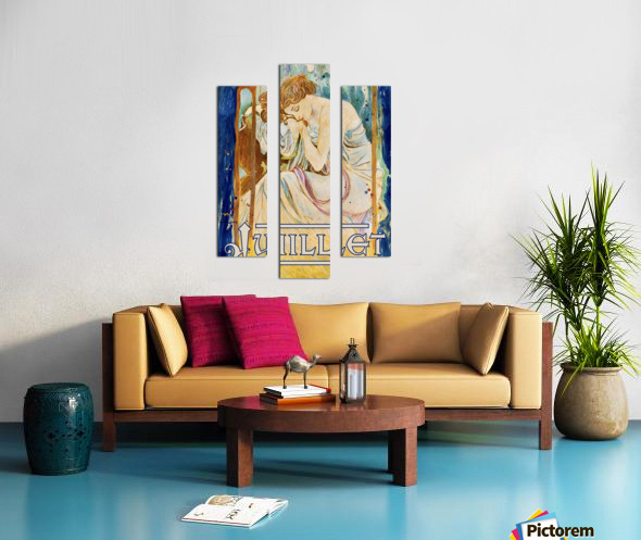 Juillet July Canvas print