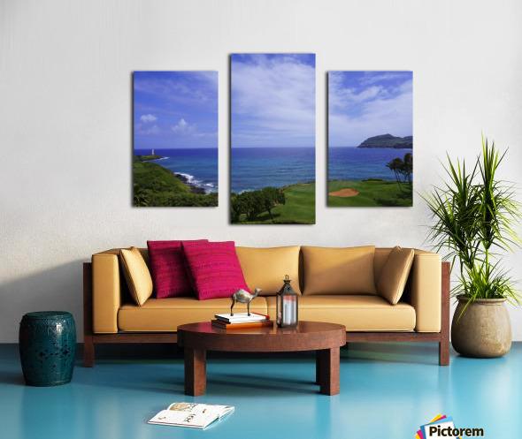 Ninini Point Lighthouse   Kauai Hawaii Canvas print
