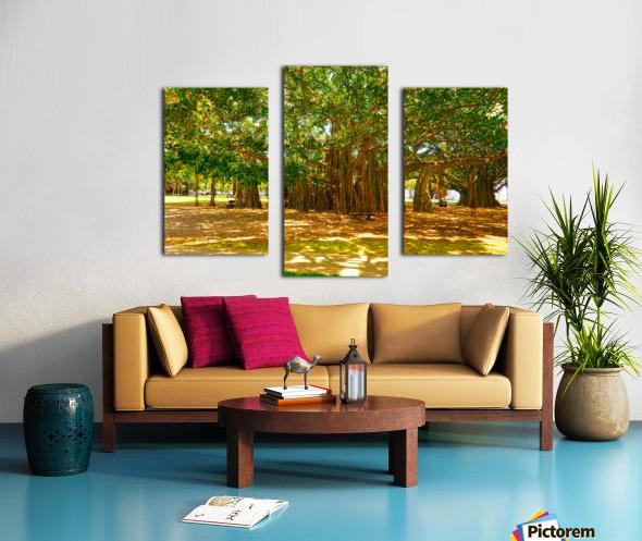 Waikiki Snapshot in Time 4 of 4 Canvas print