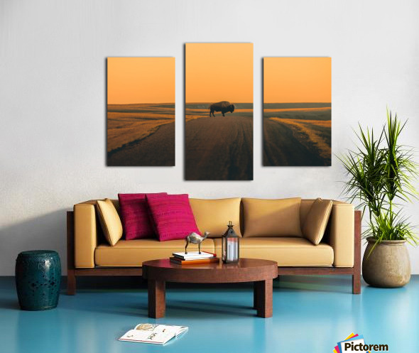 The Crossing Canvas print