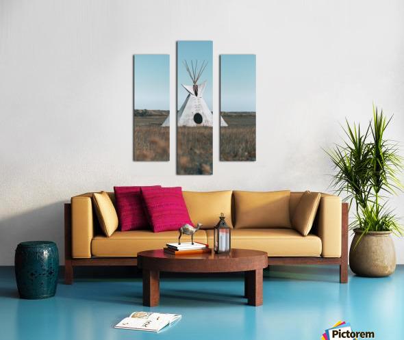 Cree Tipi Canvas print