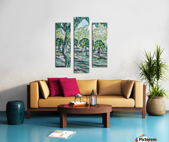 MulberryTrees Canvas print