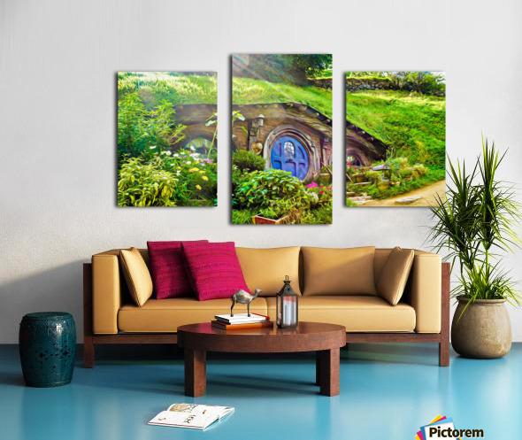Hobbit Hole Canvas print