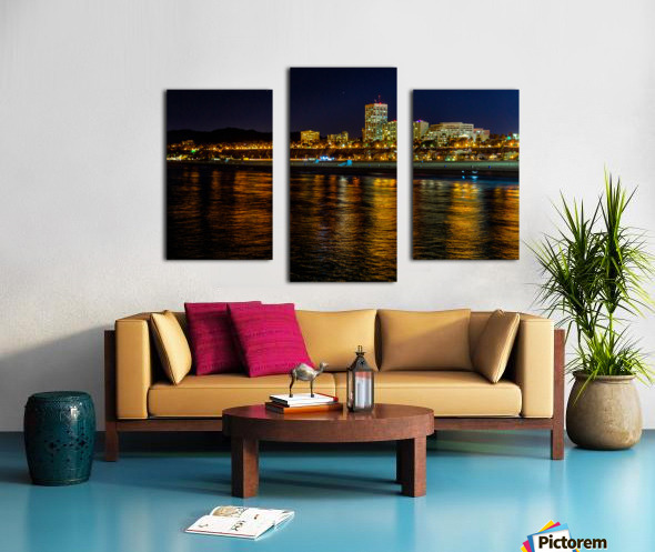 Santa Monica Skyline Canvas print