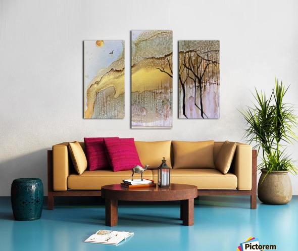 Golden Hour Impression sur toile