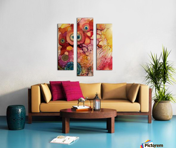 Joy Full Impression sur toile