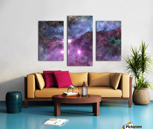 Landscape Mist Canvas print