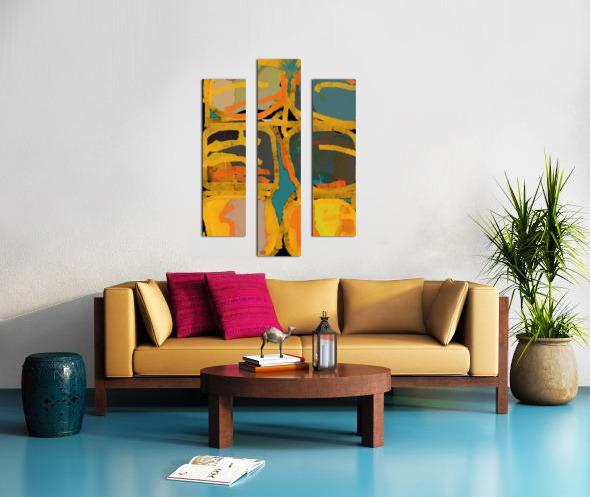 Folie Douce Canvas print