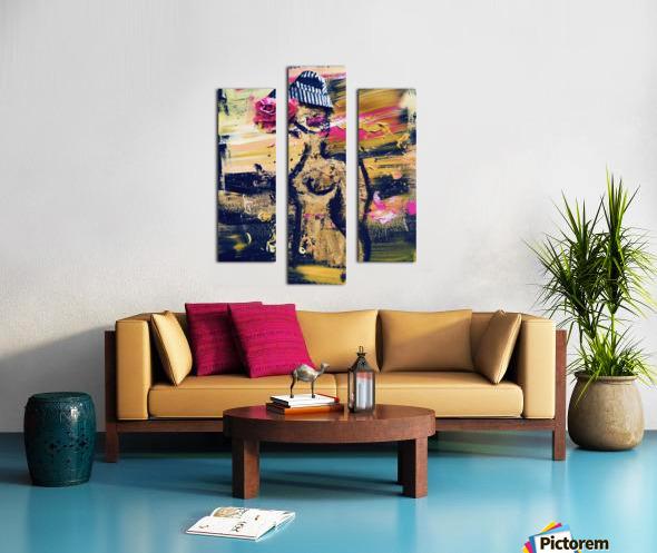 Vivienne Canvas print