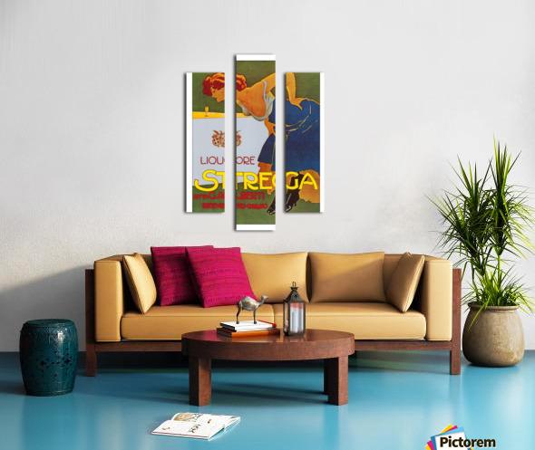 La Donna in Blu poster Canvas print