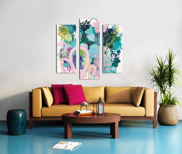 Springtime Wanderer Canvas print