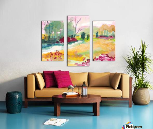 Wildflower Field Canvas print