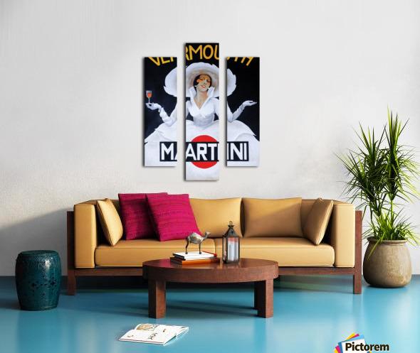 Martini Rossi Canvas print