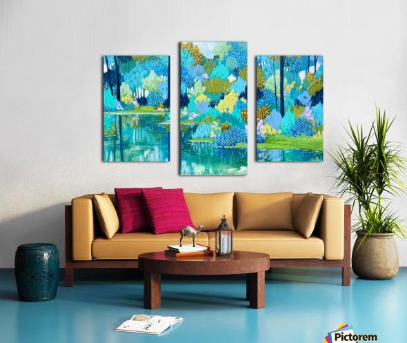 Half a World Away Canvas print