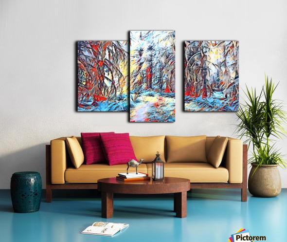 Hoh Rainforest Canvas print