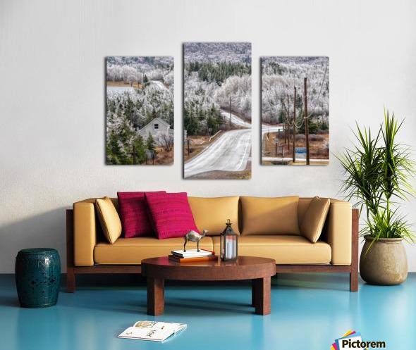 Cheticamp Ice Storm Canvas print